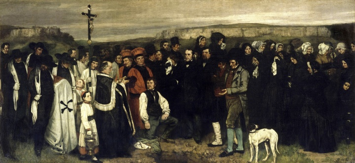 Courbet_-_A_Burial_at_Ornans_-
