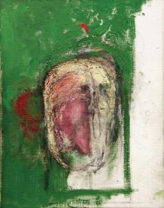 William Utermohlen Erased Self-Portrait oil on canvas, 45.5x35.5cm