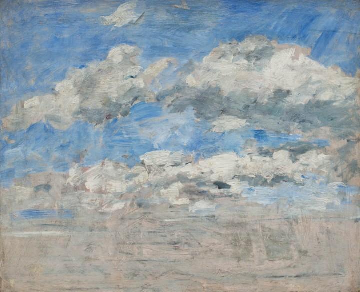 Boudin, Etude de nuage sur un ciel bleu, MuMa, LeHavre, 1888, 1895