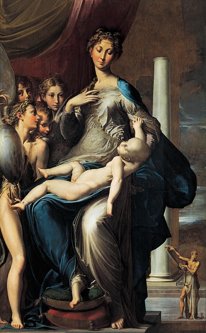 Girolamo_Francesco_Maria_Mazzola_-_Madonna_with_the_Long_Neck