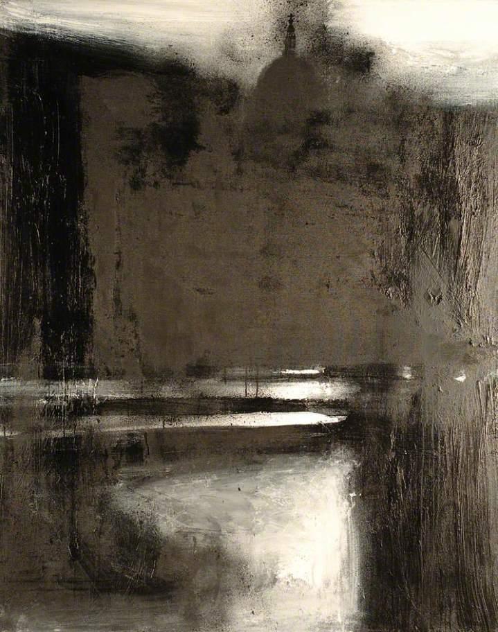 Virtue, John, b.1947; Landscape 715