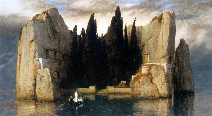 Arnold Böcklin Island_of_the_Dead,_Third_Version